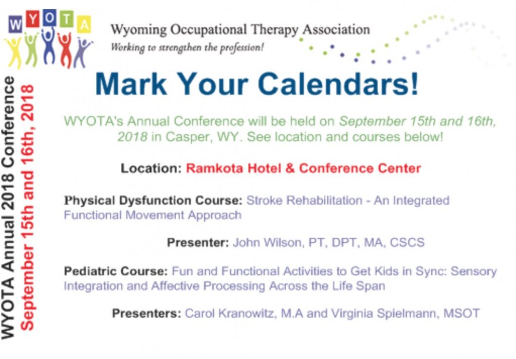 Continuing Education Wyoming Occupational Therapy Association